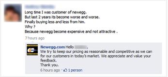 como lidar com comentários negativos no facebook